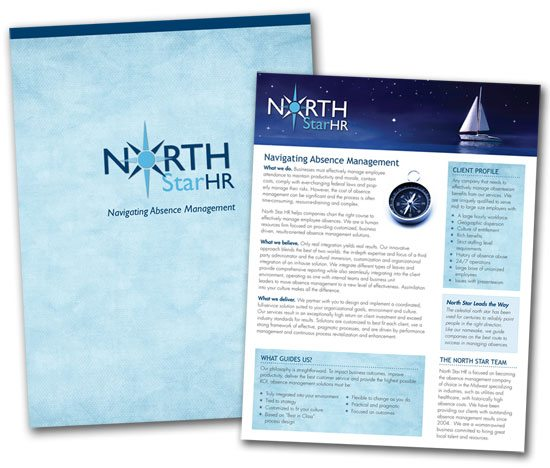 North Star HR folder and insert